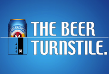 The Beer Turnstile Antarctica